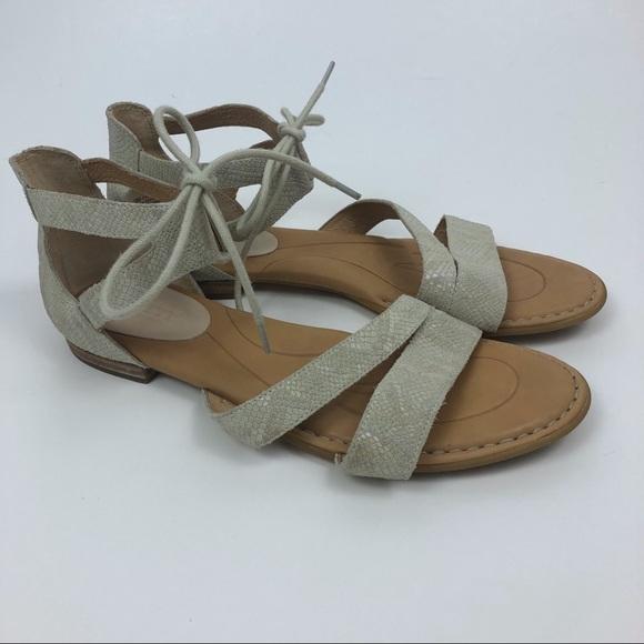 6df9c221c76c Born Shoes - BORN Casma Snake Print Leather Gladiator Sandals